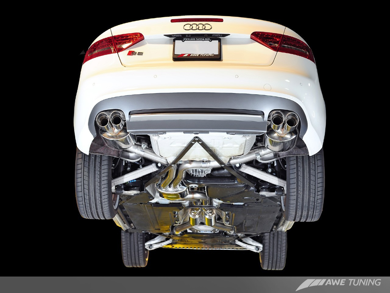 AWE Tuning Audi S5 Sportback 3 0TFSI Touring Edition Exhaust + Downpipes