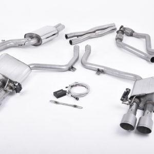 Milltek Cat-Back System – Audi S5 (B9) 3 0T Coupe/Cab (Non-Sport