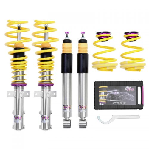 KW Variant 2 Coilovers – Audi RS4 (B8) – For vehicles With Electronic Damping